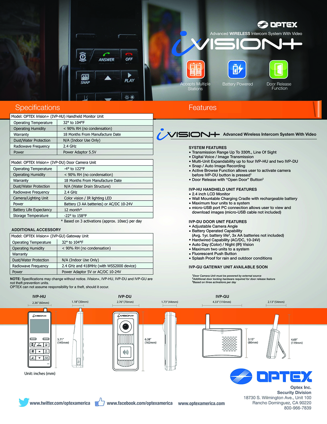 OPTEX iVision+ Literature_Page_4